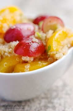 Quinoa Salad with Spring Fruits