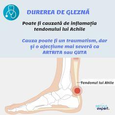 Guta este o formă de artrită. Adică o inflamație a articulațiilor. Se caracterizează prin atacuri dureroase, cu inflamație, roșeață și sensibilitate la nivelul articulațiilor. Durerea apare, în special, la degetul mare de la picior. Good To Know, Yoga, Yoga Tips