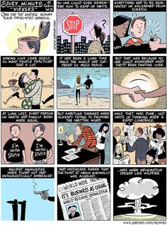 Lay Lines Comic Strip, November 28, 2016     on GoComics.com