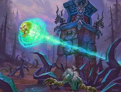 Hearthstone Card Artwork for Mortal Coil - Matt Gaser
