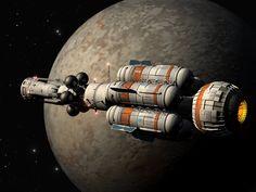 starship by Paul-Lloyd.deviantart.com on @deviantART