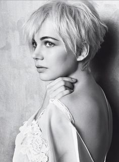 Sometimes I wish I could pull off a pixie cut.. But then I'd REALLY miss my long hair.
