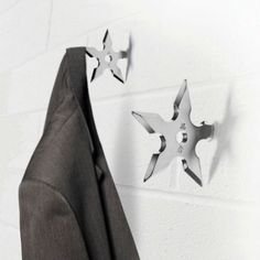 $11.99  Ninja Star Coat Hook