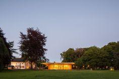 Contemporary Pavilion Adjoins Historic Farm in The Netherlands - http://freshome.com/contemporary-pavilion/