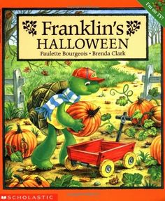 Franklin's Halloween, written by Paulette Bourgeois and illustrated by Brenda Clark