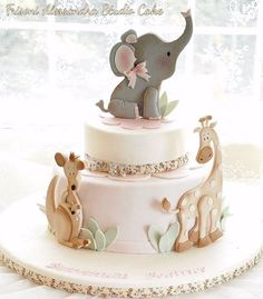 45 Ideas for baby shower cupcakes fondant elephant cakes Fondant Cupcakes, Fondant Baby, Fun Cupcakes, Cupcake Cakes, Sweets Cake, Baby Cakes, Baby Birthday Cakes, Girl Cakes, Birthday Parties