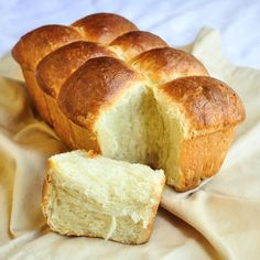Brioche Rolls - the classic French sweet bread prepared as rolls that are perfect to serve with meals or with butter and your favourite jam for brunch.