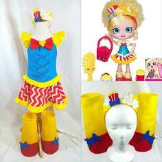 Shopkins Popette Popcorn Shoppie Doll Costume by LittleLadyDiva