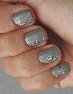 sideways glitter gradient