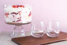 Simple Spring Trifle