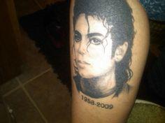Michael Jackson Tattoo by Sherry Stuber