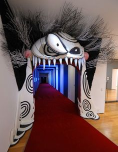 Tim Burton art exhibit