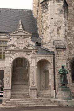 Dijon, Palace of the Dukes of Burgundy (courtyard), Bourgogne, France by @Hélène Herniou