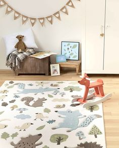 Kids rug Forest Pink All rugs and home accessories by ONLOOM. Hall Carpet, Room Carpet, Inspiral Carpets, Carpet Fitting, Orange Carpet, Grey Carpet, Carpets For Kids, Carpet Decor, Carpet Ideas