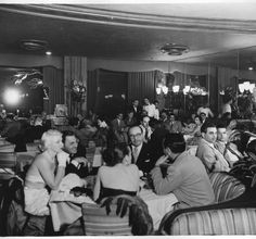 Historic Photograph of Interior Of Ciro's Nightclub In West Hollywood