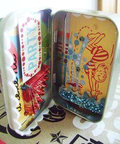 ArtGlitterBlog: Dazzling Summer Altoid Tin by Cheryl Waters