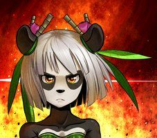 Pandawas are beast by ~Suweeka on deviantART J'ADORE