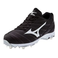 4f2698dc647 Mizuno Women s 9-Spike Advanced Sweep 2 Fastpitch Softball Metal Cleat -  Black  amp