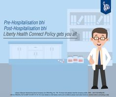 How cool is it when a policy takes care of all your hospitalisation expenses!  Have a look at more details: https://www.libertyvideocon.com/our-products/health-insurance