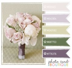 Color romance ~using touches of dark colors with pastels
