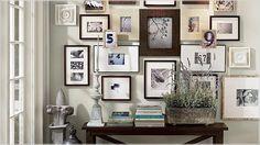 porta-retratos e painéis decorativos