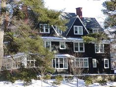 1874 - 1910: Shingle Style colors