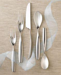 Yamazaki Swivel 5 Piece Place Setting - Flatware & Silverware - Dining & Entertaining - Macys Bridal and Wedding Registry #macysdreamfund