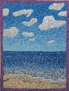 Pointillism No. 23 Beach by ~Samuraijose on deviantART