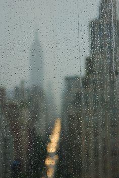 Rainy day in New York City...