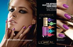 loreal nail polish ad