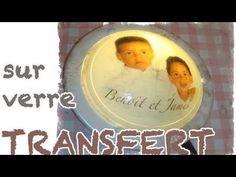 Transfert photo sur Verre - YouTube