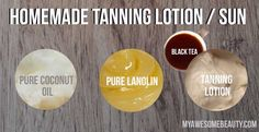 Homemade Tanning Lotion Step-by-Step recipes that will dramatically accelerate your tan whether you want a sunless self tanner or a tan accelerator for the sun and the salon. Homemade Tanning Lotion, Best Tanning Lotion, Self Tanning Lotions, Tanning Tips, Tanning Products, Tanning Cream, Outdoor Tanning, Airbrush Spray Tan, Limpieza Natural