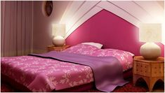 Red Bedroom Design, Do you like to have an energetic, vivid bedroom design? The red bedroom design is an eye-catching design that arrests the eyes of the people; Pink Master Bedroom, Red Bedroom Design, Red Bedroom Decor, Pink Bedrooms, Modern Bedroom Decor, Bedroom Ideas, Bedroom Furniture, Pink Furniture, Romantic Bedrooms