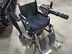 Custom Wheelchair - To deal with illegal parking in the disabled space?
