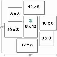Image result for Picture Frame Groupings On Walls 16x20