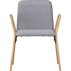 Thesi heather gray office chair for desk, CB2, $199