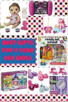 Best Gifts For 4 Year Old Girls Christmas Presents 3 Olds Birthday