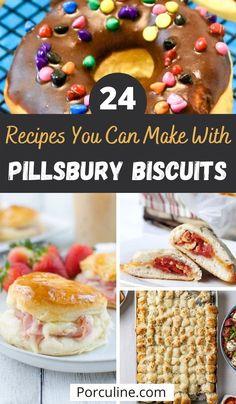 Biscuit Dessert Recipe, Biscuit Muffin Recipe, Biscuit Dough Recipes, Pillsbury Crescent Recipes, Best Biscuit Recipe, Bisquick Recipes, Crescent Roll Recipes, Dessert Bread, Crescent Rolls
