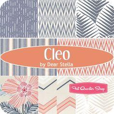 Cleo Fat Quarter Bundle Dear Stella Fabrics - Fat Quarter Shop