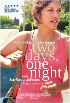 "Two Days, One Night (2014) - ""Critics Consensus: Another profoundly affecting work from the Dardenne brothers, Two Days, One Night delivers its timely message with honesty and clear-eyed compassion.""   *"