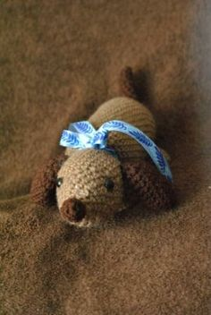 No bark, no puddles, just lots of cuddles. This wiener dog won't bite.