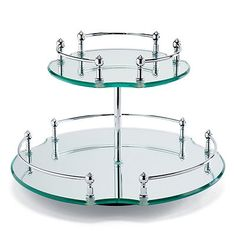 Would love a tiered lazy Susan for a vanity or bathroom. Maybe not one like this since I find it kind of ugly.