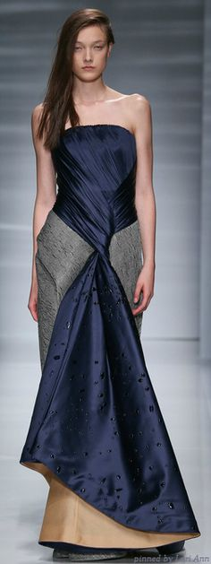 Vionnet Couture Fall 2014 | The House of Beccaria~