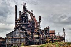 The old Bethlehem Steel plant, Bethlehem, PA