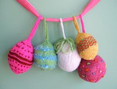 christmas ornaments Knit & stuff as you go Free pattern