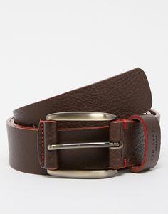 Image 1 ofTed Baker Leather Belt