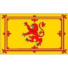 "Scottish ""Rampant Lion Flag Scotland"""