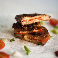 Aubergine Braaibroodjies with Cheese & Tomato | Crush Magazine Recipe