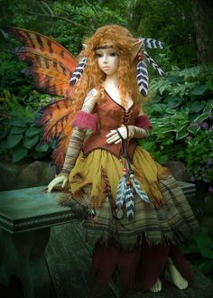 Forest Fairy ~ Martha Boers