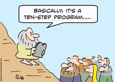 Apple Humor | #Moses with his new #tablet #iPadHumor | From the Catholic Company